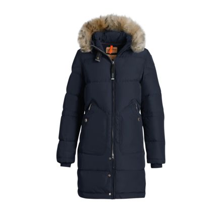 7fef4b00 Parajumpers Light Long Bear Insulated Urban Jacket - Womens, Blue-Black,  Extra Small