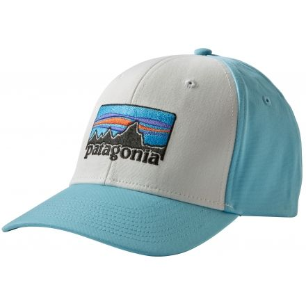 Patagonia  73 Logo Roger That Hat - Men s-White Cuban Blue-Regular b4afff444e6
