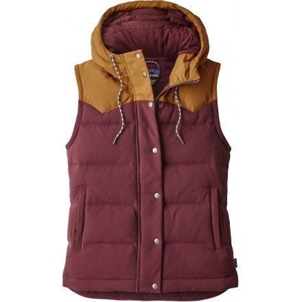 bb2883f98c2 Patagonia Bivy Hooded Vest - Women's-Dark Ruby-X-Small