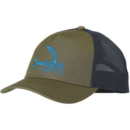 1a8a8cea Patagonia Deconstructed Flying Fish Layback Trucker Hat-Fatigue Green-One  Size-One Size