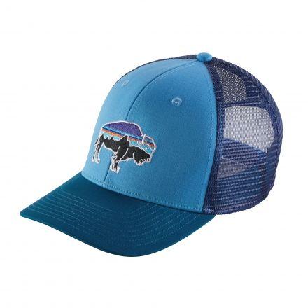 Patagonia Fitz Roy Bison Trucker Hat - Mens — CampSaver e25f688a8e4e