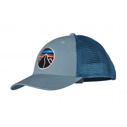 Patagonia Fitz Roy Emblem LoPro Trucker Hat - Mens-Blue Clay-One Size c9a6ae85e65a