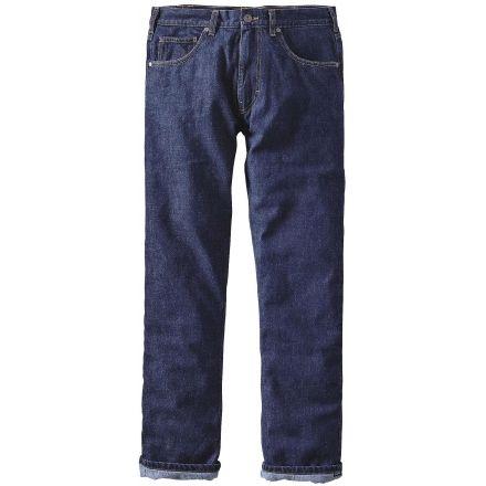 f3b9039af7 Patagonia Flannel Lined Straight Fit Jean - Men's -Dark Denim-30 Waist-Short