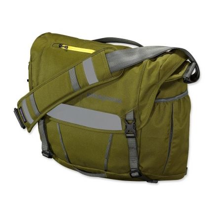 Patagonia Half Mass Courier Bag Willow Herb Green