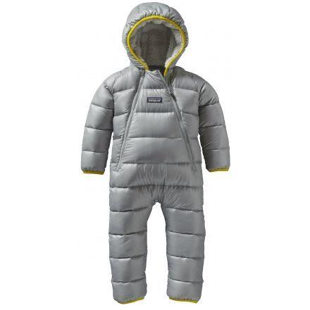 e3b6ebee6 Patagonia Hi-loft Down Sweater Bunting - Baby-Drifter Grey