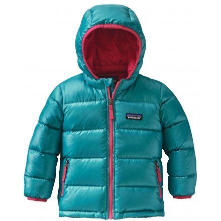 Patagonia Hi-Loft Down Sweater Hoody - Baby-Epic Blue-18M