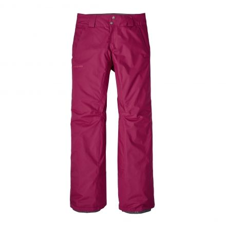 Patagonia Insulated Snowbelle Pants - Womens-Magenta-Regular Inseam-X-Small
