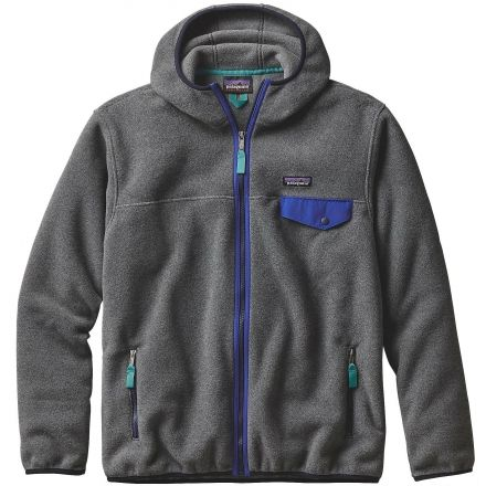 Patagonia Lightweight Synchilla Snap-T Hoody - Men s -Nickel-X-Small 8df151e08034