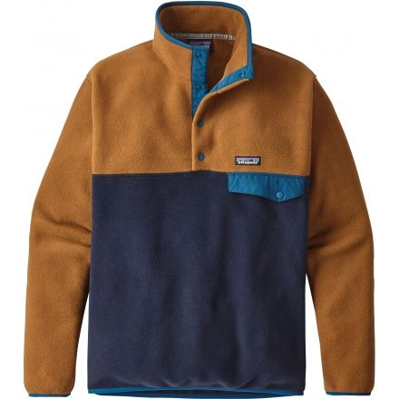 Patagonia Lightweight Synchilla Snap-T Pullover - Mens — CampSaver 46dfa5a13bec