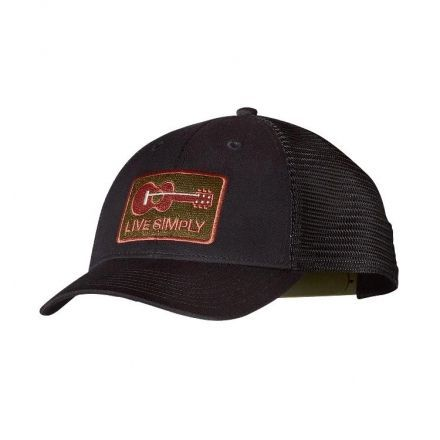 Patagonia Live Simply Guitar LoPro Trucker Hat - Mens — CampSaver c5fd669825e