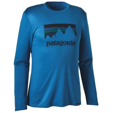 Patagonia Long-Sleeved Capilene Daily Graphic T-Shirt - Mens, Up ...