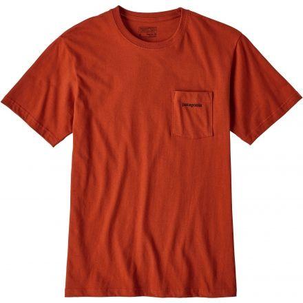 f5600ba59ac Patagonia P-6 Logo Cotton Pocket T-shirt - Men s — CampSaver