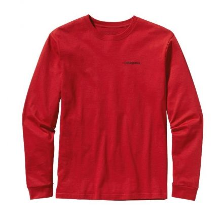 Patagonia P-6 Logo Long Sleeve T-Shirt - Mens — CampSaver