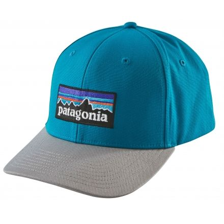 12036264bc7 Patagonia P-6 Logo Roger That Hat-Grecian Blue-One Size