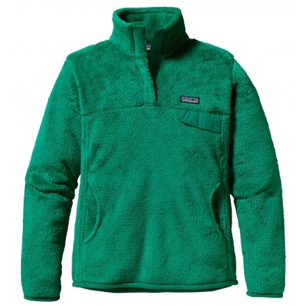 Patagonia Re-Tool Snap-T Pullover - Womens | Lightweight Fleece ...