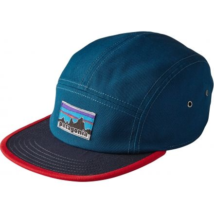 Patagonia Retro Fitz Roy Label Tradesmith Cap - Men s-Big Sur Blue d3e9c45a522
