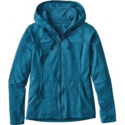 Patagonia Big Sur Blue Seabrook Women's Large Hoody vqrxUawv