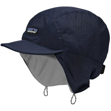 Patagonia Shelled Synchilla Duckbill Cap - Men s-Navy Blue Feather  Grey-Small 65be62f06fa
