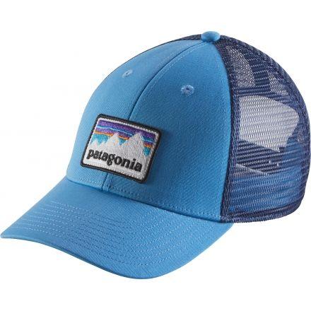 Patagonia Shop Sticker Patch LoPro Trucker Hat - Men s-Radar Blue-One Size b75602d251c7