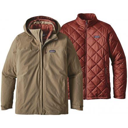 Patagonia Windsweep 3-in-1 Jacket - Men's -Ash Tan-Medium