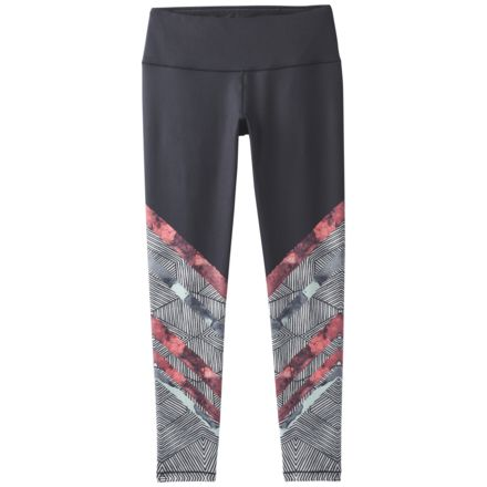 90e23e9b16334 prAna Pillar Printed Legging - Women's, Bone Caribou, Large, W41180329-BOCA-
