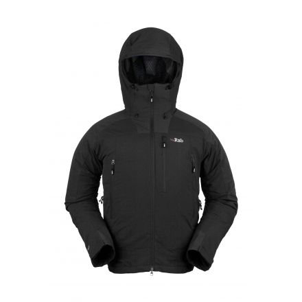 30a5a309 Rab Vapour-Rise Guide Jacket - Mens - Black - Large — CampSaver