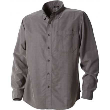 Royal Robbins Desert Puckerware Long Sleeve - Mens-Obsidian-Small