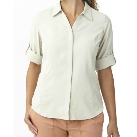 Royal robbins expedition stretch 3 4 sleeve shirt womens for Royal robbins expedition shirt 3 4 sleeve women s