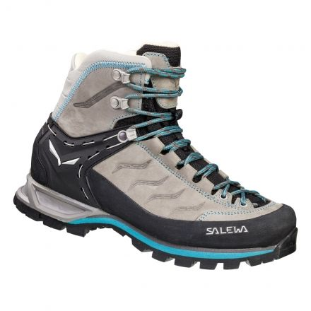 Salewa Mountain Trainer Mid Leather Hiking Shoes - Womens — CampSaver 566539df2
