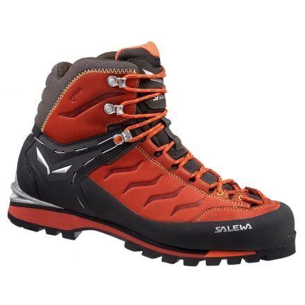 Salewa Rapace GTX Mountaineering Boot - Men's-Indio/Mimosa-8 US