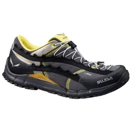 Salewa Speed Ascent GTX Hiking Shoe - Mens-Black/Yellow-Medium-8.5