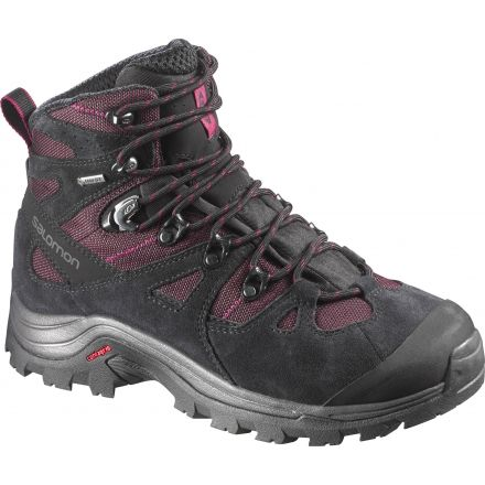 Discovery GTX Backpacking Boot - Womens-Bordeaux/Black/Carmine-Medium-6