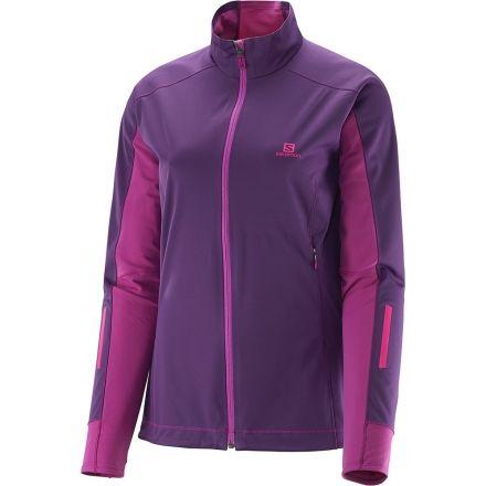 536816036f Salomon Equipe Softshell Jacket - Women s-Cosmic Purple-Small