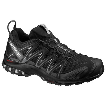 3dee8a4d090f Salomon XA Pro 3D Trail Running Shoe - Men s-Black Magnet Quiet Shade