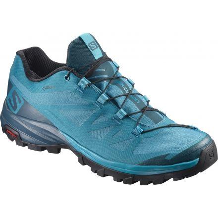 Salomon Outpath GTX Hiking Shoes Women tahitian tidereflecting pondblack