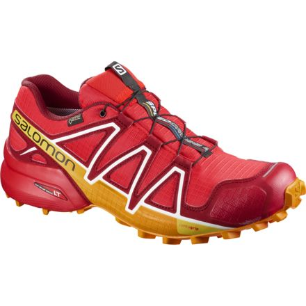 premium selection 2e43e 82133 Salomon Speedcross 4 GTX Trail Running Shoes - Men s, Fiery Red  Red Dalhia,