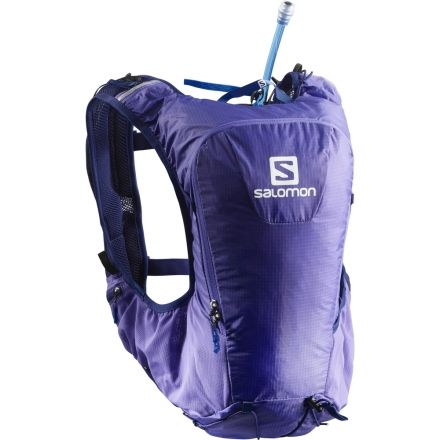 272308a1ed Salomon Skin Pro 10 Set Running Backpack, Purple OpulenceMedieval Blue  L40137100-NS