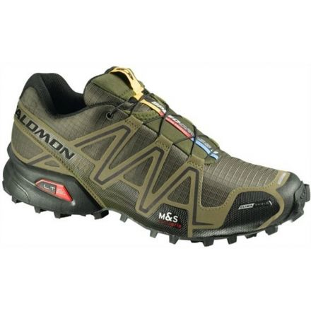 53d313166ef2 Salomon Speedcross 3 CS Trail Running Shoe - Men s-10 US-Lake Fluo  Green Fluo Blue — CampSaver