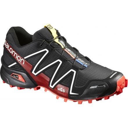 042d7d2dbdd5 Salomon Spikecross 3 CS Trail Running Shoe - Men s-Black Red White-
