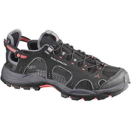 Salomon Techamphibian 3 Shoe - Women's-Black/Cloud/Papaya-6