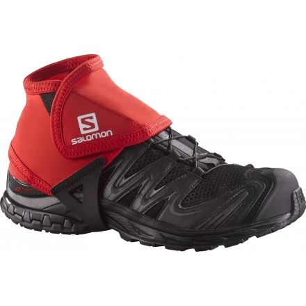 Trail Gaiters Low - Mens-Bright Red-Small