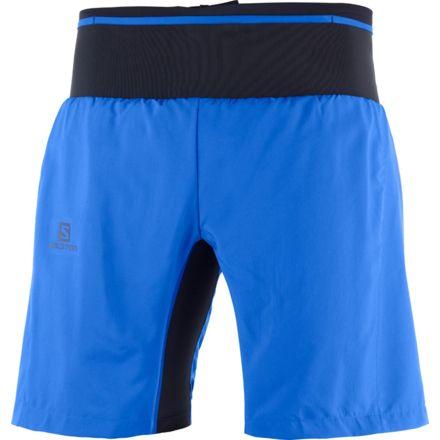 neue Kollektion Wählen Sie für späteste Neueste Mode Salomon Trail Runner Twinskin Short - Mens