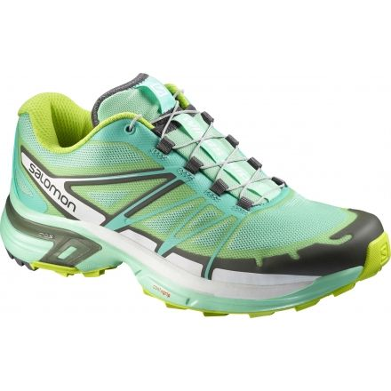 798480dc9224 Salomon Wings Pro 2 Trail Running Shoe - Women s-Grey Bubble-Medium-