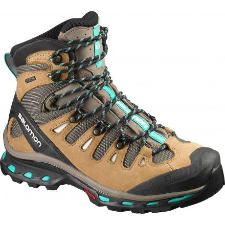 Up To 50% Off Shoes Salomon Quest 4D 2 Gore Tex Walking Boots Brown/Blue Women