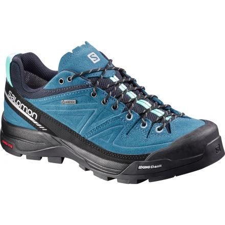 Latest Women Salomon X Alp Ltr GTX Trail Running Shoes Blue