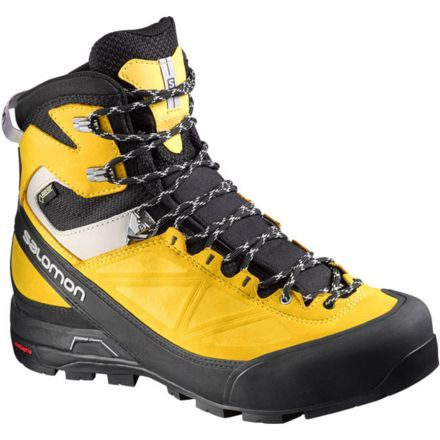 4e03a15341f Salomon X Alp Mountain GTX Mountaineering Boot - Men's-Blk/Bee/Aluminum-