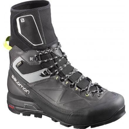 Salomon X Alp Pro GTX Mountaineering Boot - Men's-Black/Asphalt/Gecko-