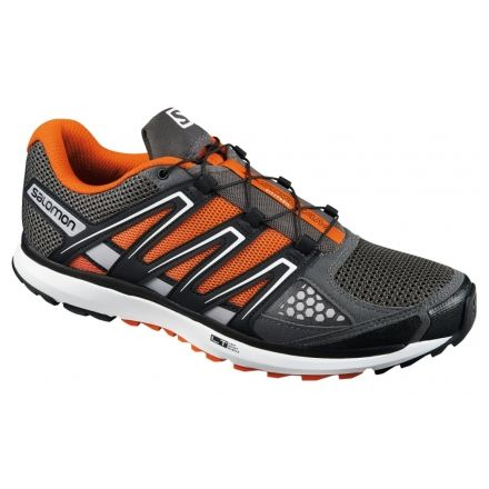 detailed look 80890 b4a5c Salomon X-Scream Trail Running Shoe - Men s-Black Orange White-
