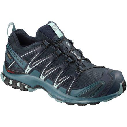 Salomon XA Pro 3D GTX W trail running shoes purple black grey