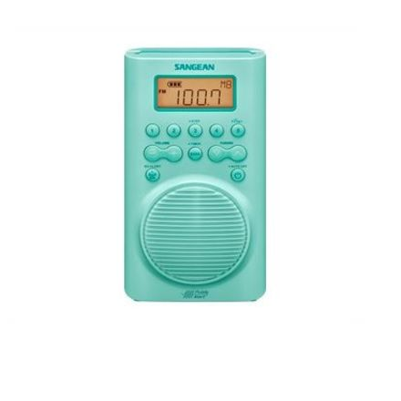 Sangean H-205TQ AM / FM Weather Alert Waterproof Shower Radio
